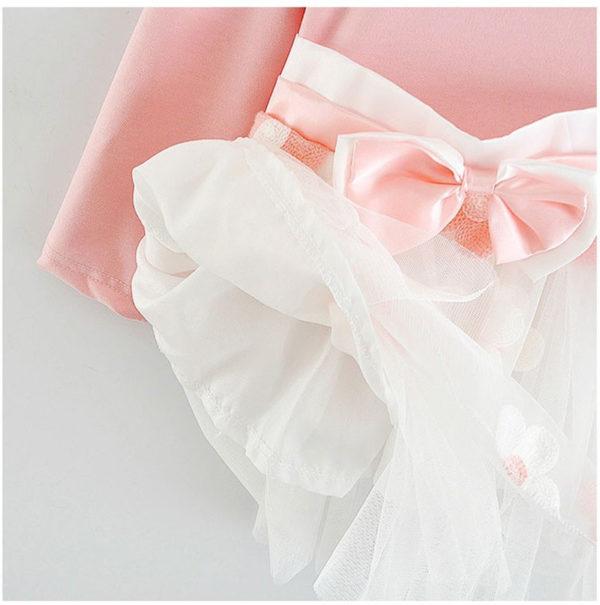 Long Sleeve Baby Girls Dress For Girl Christening Birthday 0 2T Newborn Toddler Dresses Kids Casual Clothes Vestido Infantil 24M