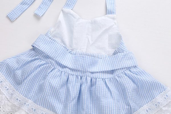 2pcs Newborn Baby Girls Bowknot Clothes 2018 Summer Striped Vest Tops + Bottoms Outfit Bebek Giyim Toddler Kids Clothing Set 2