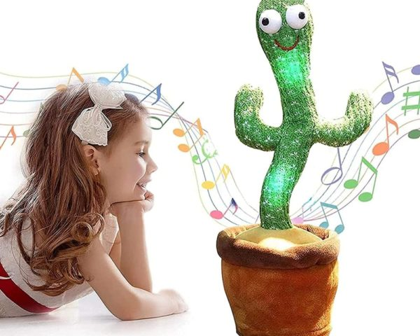 Dancing Cactus, Singing Cactus Toy, Cactus Plush Toy for Home Decoration and Children Playing Without Recording Function 1