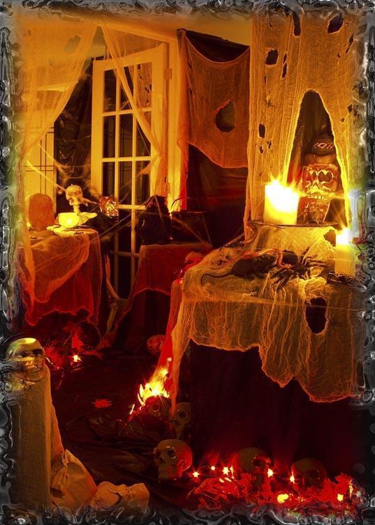 √ halloween : maison hante