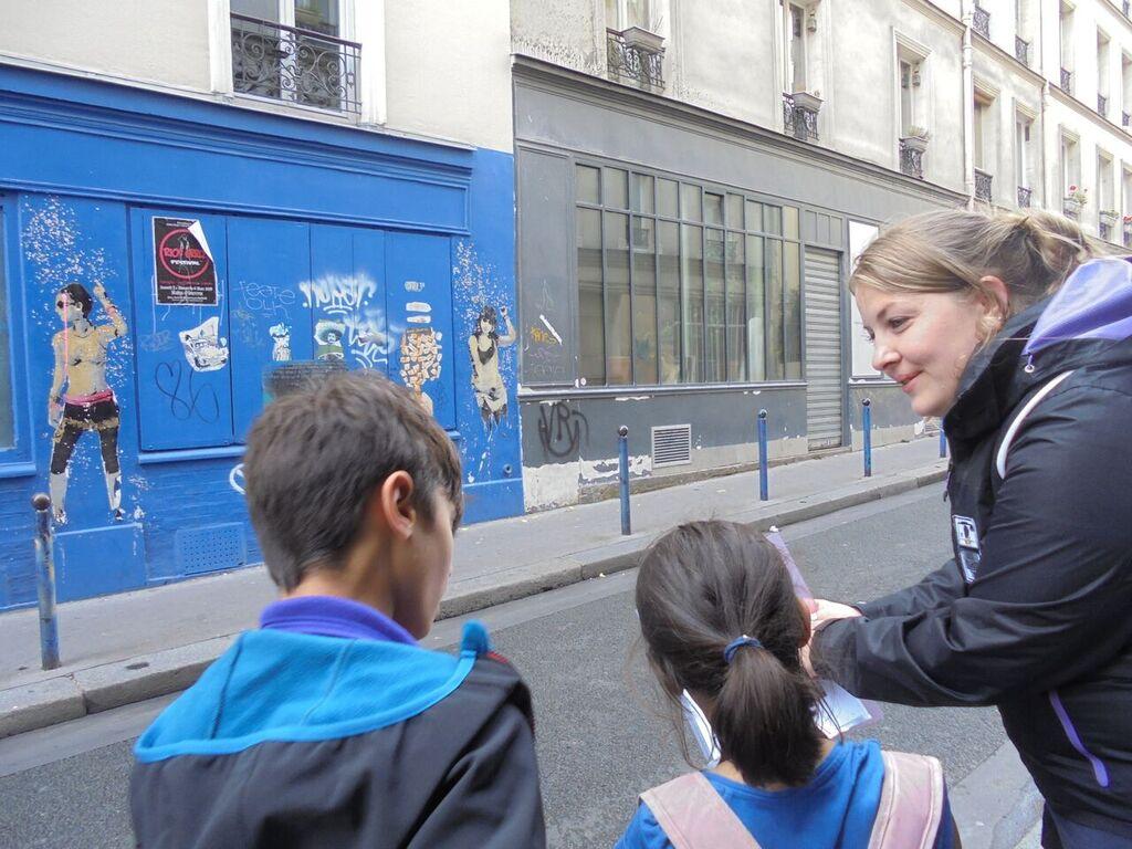 Super child friendly Paris Polaroid Tours