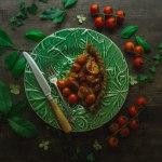 tomato and basil savoury tart recipe