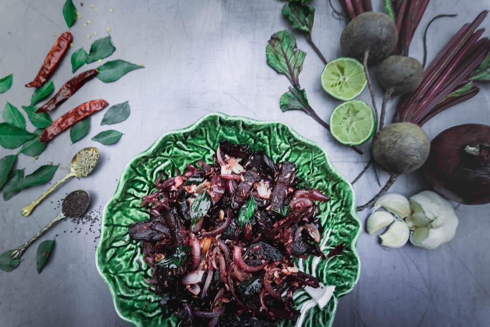 Sri Lankan beetroot recipe