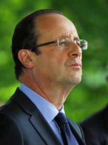 """I Salute the Memory of the Vicitims."" President Hollande."