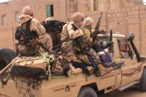 Malian Franchise: A pick-up packed with Islamist extremists linked to Al-Qaeda.