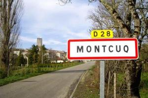 Big-assed small town: The village of Montcuq became famous throughout France through television magic