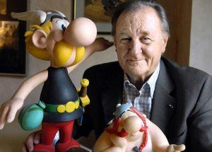 """I didn't imagine my characters living on after me..."" Original Asterix illustrator Albert Uderzo."