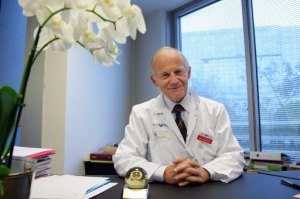 Hale and hearty: Prof Alain Carpentier