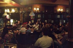 Session in Normandy: Shanghy's sessions are tapping into a hunger for Irish traditional music in the area