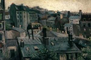 Landscape of zinc and slate: Van Gogh's 'Vue de Paris' from 1886