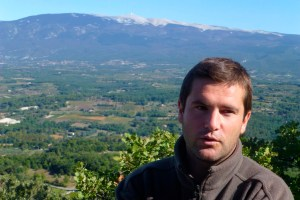 Expert in the field: Domaine des Anges winemaker and manager Florent Chave