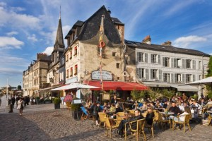 "Honfleur: ""...too busy, too touristy with its 4.5 million visitors a year, stuffed with brasseries and moules-frites joints… I couldn't see myself setting up here."""