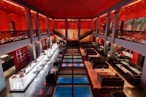 The Atrium Bar at night