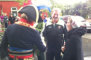 """C'est qui, ce mec?"" Taoiseach meets a special foreign dignitary"