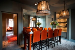 An interior shot of Le Ligaro - the boutique hotel owned by Caroline and her husband Ludovic