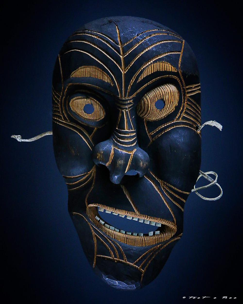 Petit masque Mahorais-Mayotte