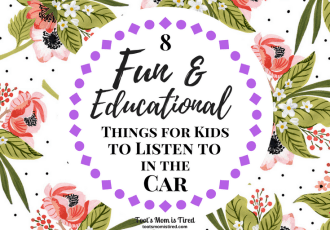 8 Things for Kids to Listen to in the Car