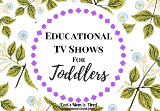 Educational TV Shows for Toddlers