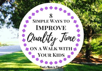8 Simple Ways to Improve Quality Time on a Walk with Your Kids