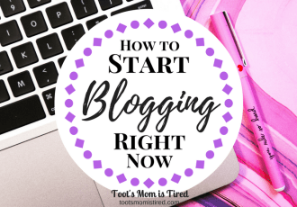 How to Start Blogging Right Now