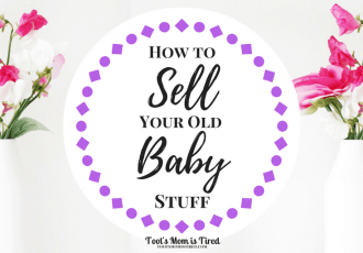 How to Sell Your Old Baby Stuff