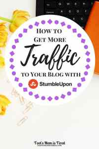 How to Get More Traffic to Your Blog with StumbleUpon | Increase your traffic with a social media channel you're probably neglecting: StumbleUpon. blogging tips