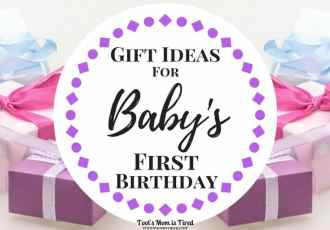 Gift Ideas for Baby's First Birthday