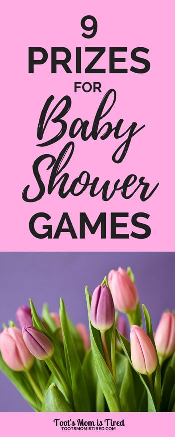 9 Prizes for Baby Shower Games | Shower prize ideas. what to give out as prizes for a baby shower, door prizes, #babyshower, pregnancy, pregnant, gift bags for baby showers