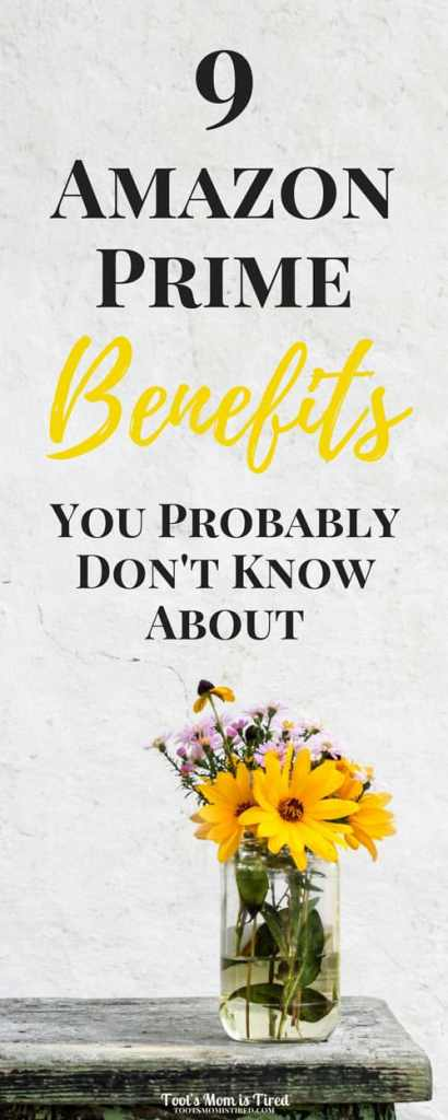 9 Amazon Prime Benefits You Probably Don't Know About | Amazon Prime helps you save money but here are the other benefits | Twitch, Amazon Prime Services, Kindle, free books, free library, should i get amazon prime, is amazon prime worth it