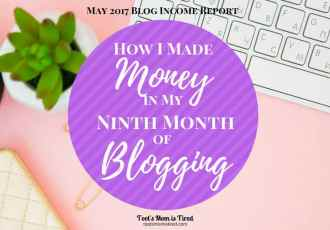 How I Made Money in my Ninth Month of Blogging
