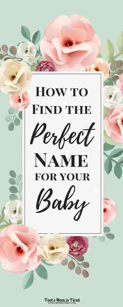 How to Find the Perfect Baby Name | baby names, parenting, pregnancy, tips, name a baby, what not to name a baby, bad baby names, best baby names, popular baby names, how to choose a baby name, how to pick a baby name, compromising
