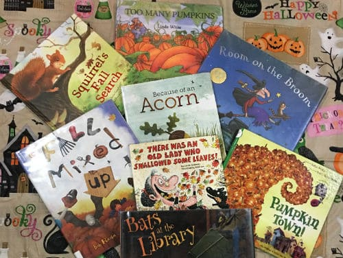 22 fall books for toddlers