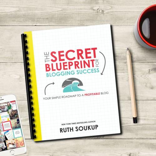 Secret blueprint for blogging success