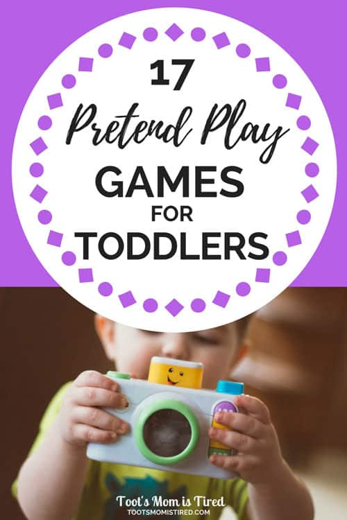 17 Fun Pretend Play Games and Activities for Toddlers | pretending games for toddlers, how toddlers pretend, learn how to pretend, winter spring summer fall activities for toddlers, games for toddlers, one year old, two years old, three years old, 18 month old, parenting, motherhood, mom life, #toddlers #pretendplay #toddleractivities