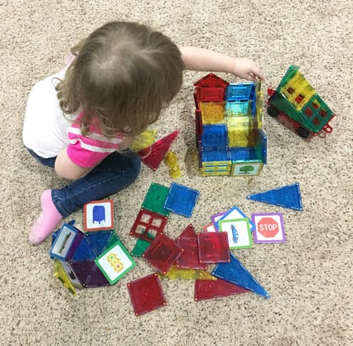 Shape mags STEM toys for toddlers