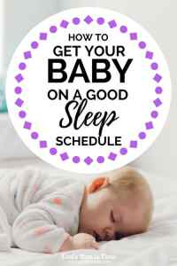 How to Get Your Baby on a Good Sleep Schedule | how to get your baby to sleep at night, baby naps, better sleep schedule for babies, newborn, months old, month old, bedtime routine, sleeping habits, new mom, motherhood, parenting
