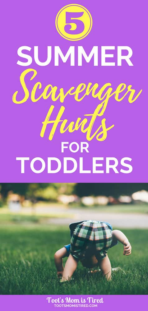 5 Fun Summer Scavenger Hunts for Toddlers   activities for toddlers, one year olds, two year olds, three year olds, 18 months old, summer activities for toddlers, family fun, games for toddlers, #toddlers #toddleractivities #scavengerhunts #summeractivities #familyfun