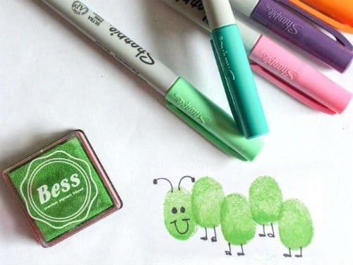 Thumbprint Bugs Craft