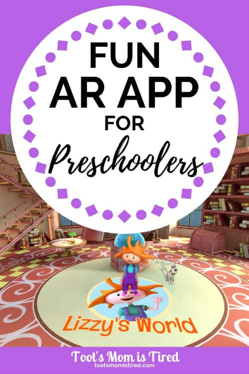 Lizzy's World - A Fun VR App for Preschoolers   Virtual Reality app for preschoolers, 3D app, augmented reality, AR app, Playing Forward Lizzy's World App review, VR app for 3 year olds 4 year olds 5 year olds, fun kids app #VR #AppsForKids #AppsForPreschoolers #Sponsored