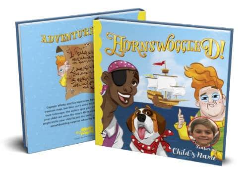 Hornswoggled! A custom pirate adventure book