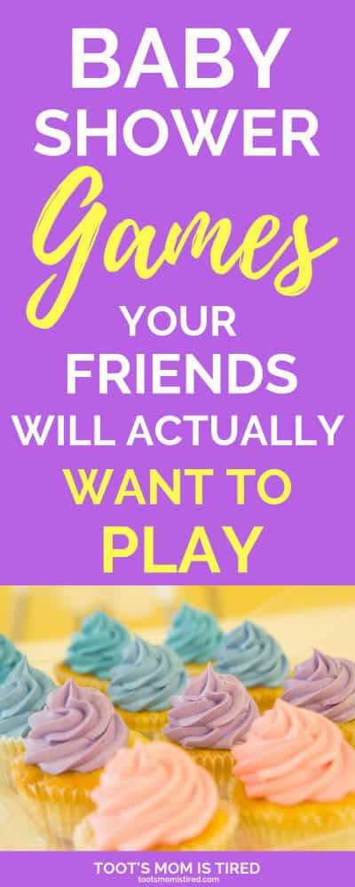 Baby Shower Games That Your Friends Will Actually Want to Play | fun baby shower games for party poopers, baby shower game ideas, easy baby shower games, #babyshowers #babyshowerideas #babyshowergames #babyshower