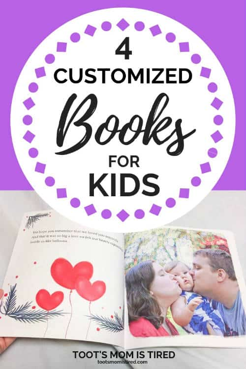 4 Customized Books For Kids | customize children's books with their name and picture, put your kid's name and photo in a story book, custom books for toddlers, preschoolers, choose your own adventure, #kidsbooks #custombooks #personalizedgifts #christmas2018 #giftideas