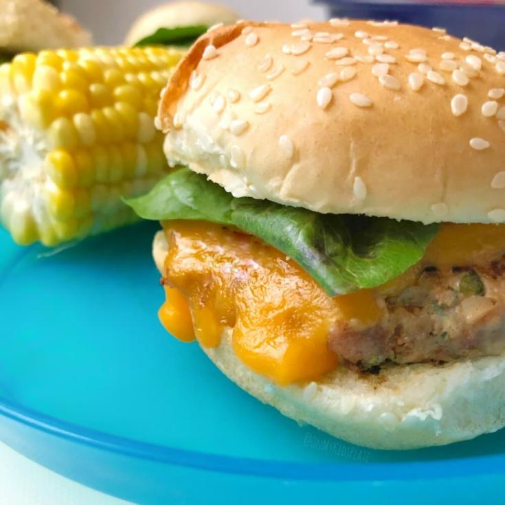 Family Friendly Turkey Burger Sliders With Cheese