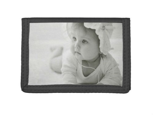 custom kids photo wallet for grandparents