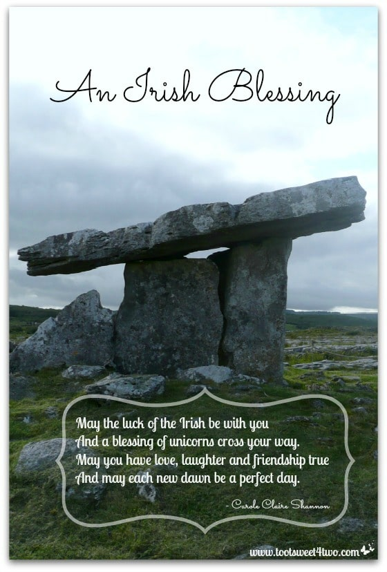 17 Irish Blessings for St Patricks Day  Toot Sweet 4 Two