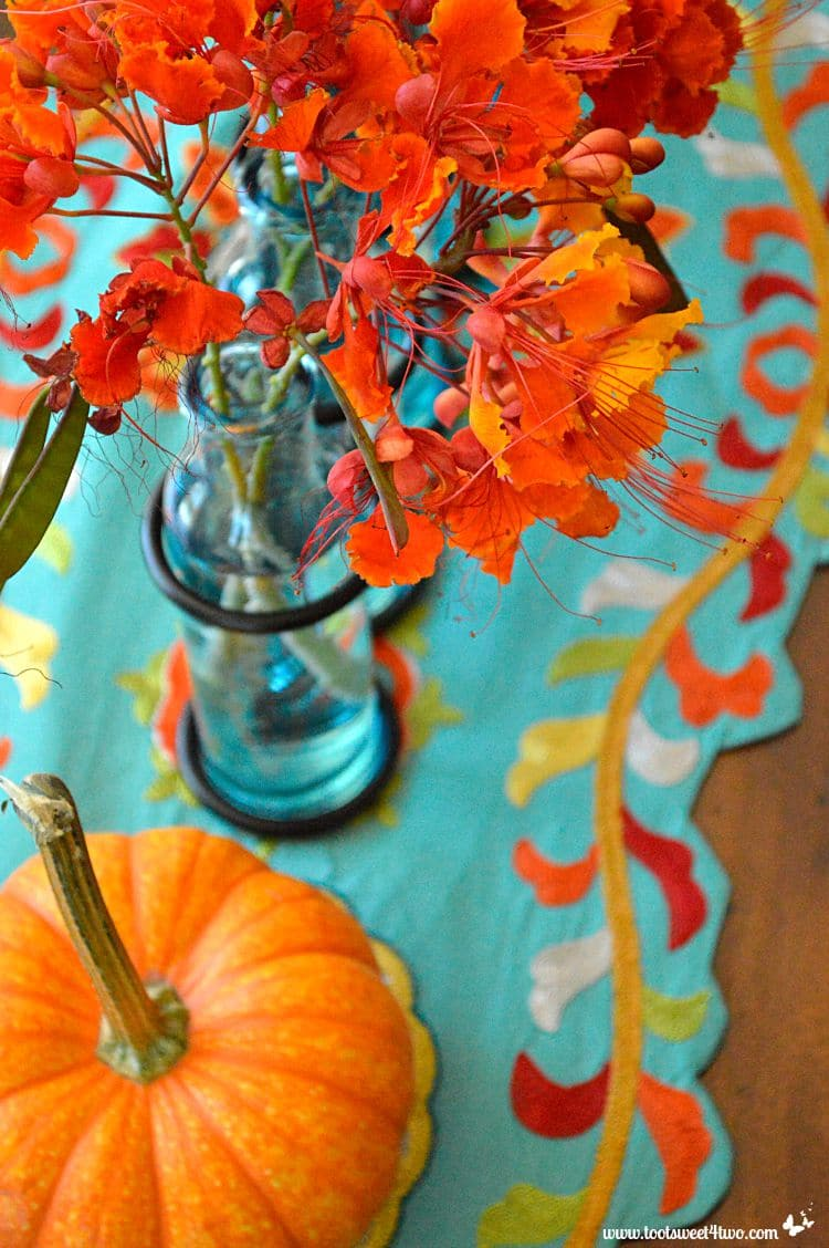 Fall Desktop Wallpaper With Pumpkins Turquoise And Orange Summer To Fall Decorating Hack