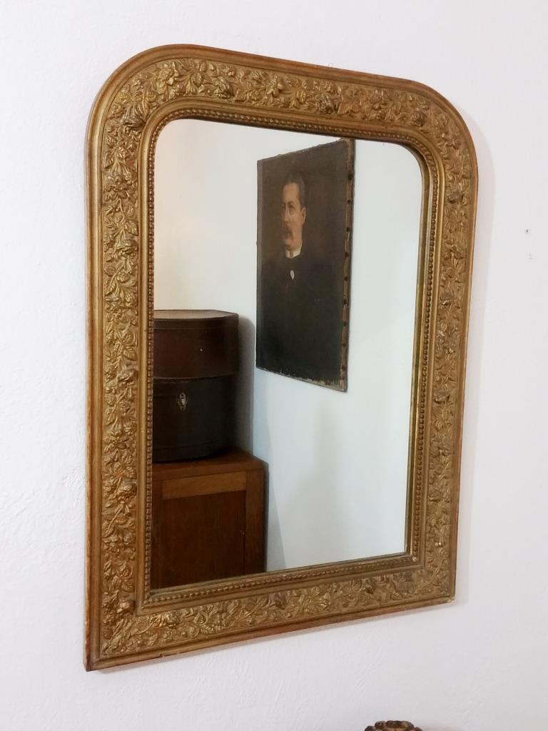 miroir ancien louis philippe shabby chic