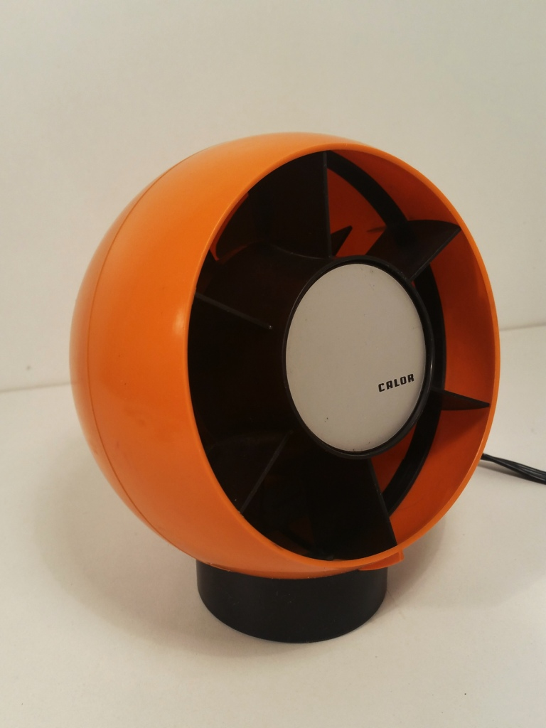 ventilateur boule calor vintage design 70