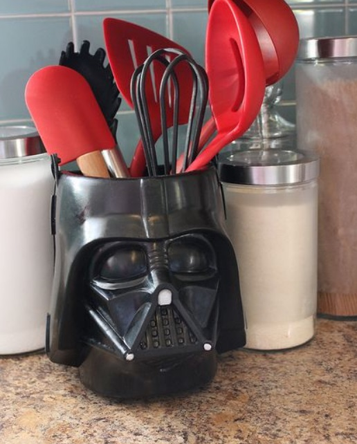 Darth Vader Kitchen Utensil Holder