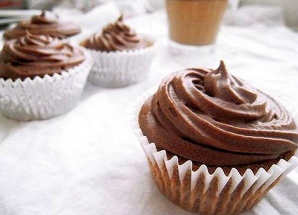 Chocolate Milo Cupcakes